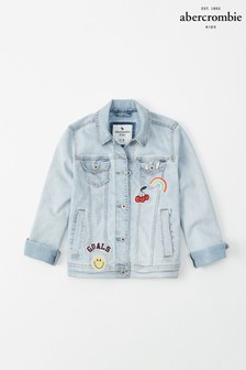 Abercrombie & Fitch Blue Badge Denim Jacket