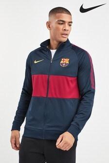 Nike Navy FC Barcelona Jacket