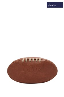 Joules Tan Rugby Ball Shaped Washbag