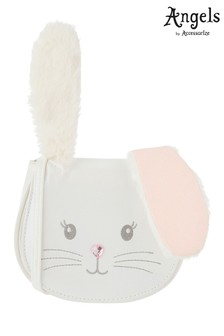 Angels by Accessorize White Flopsy Bunny Cross Body Bag