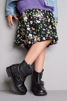 Расклешенная юбка с принтом (3-16 лет)
