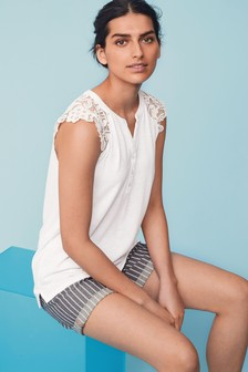 dfe1017cca3 Women's White Tops | Elegant White Tops For Ladies | Next UK
