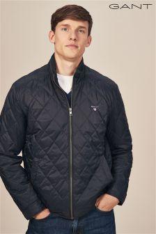 Gant Navy Quilted Windcheater Jacket