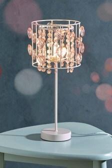 Jewel Hearts Palazzo Table Lamp