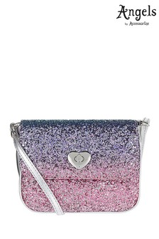 Angels By Accessorize Ombre Glitter Cross Body Bag