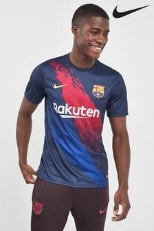 Nike Navy FC Barcelona Dri-FIT T-Shirt