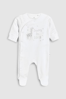Born In 2019 Sleepsuit (0-9mths)