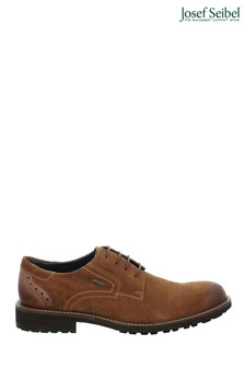 Josef Seibel Brown Jasper Smart Casual Waterproof Shoes
