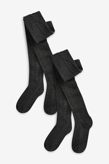 Cable Tights Two Pack