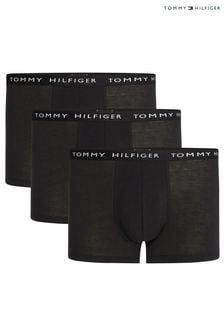 Tommy Hilfiger Black Premium Trunks Three Pack