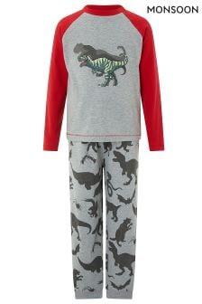 Monsoon Dixon Dino Jersey Pyjama