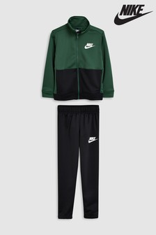 Nike Green Poly Tracksuit