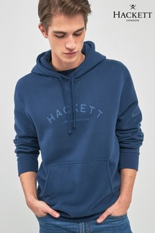 Hackett Blue Hooded Sweatshirt