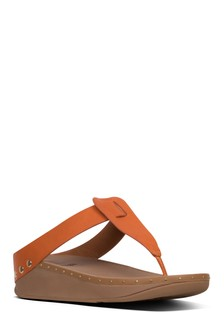 FitFlop™ Brown Isabelle Toe Post