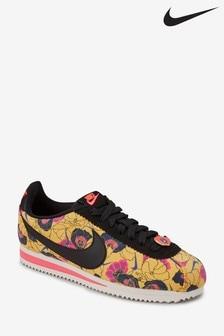 Baskets Nike Cortez à fleurs