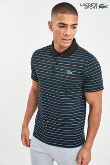 Lacoste® Sport Striped Polo
