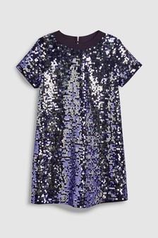 Sequin Shift Dress (3-16yrs)