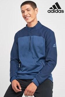 adidas Golf Navy Go To 1/4 Zip Jacket
