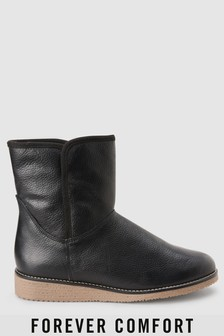 Forever Comfort Crepe Sole Ankle Boots