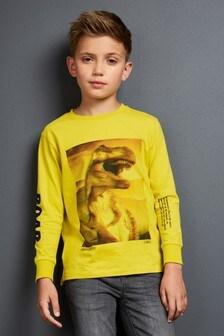 Футболка с динозавром (3-16 лет)