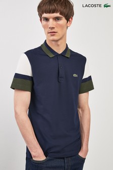 Lacoste® Colourblock Green Polo