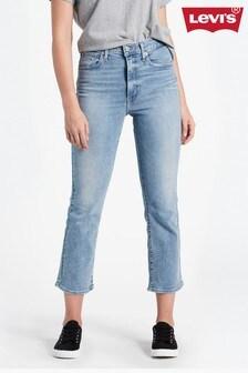 Levi's® Mile High kürzere Jeans mit ausgestelltem Bein
