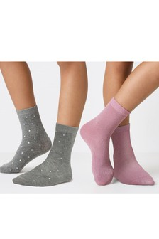Sparkle Socks Two Pack (Older)