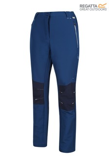 Regatta Blue Womens Questra II Trousers