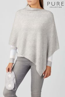 Pure Collection Grey Cashmere Travel Set
