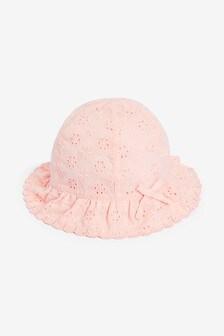 Broderie Hat (0mths-2yrs)