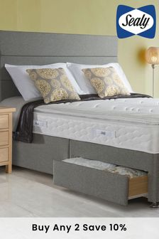 Sealy Comfort Pillow Top Mattress And Divan By Sealy