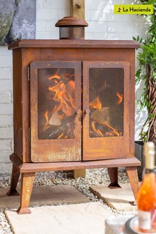 Volantis Fireplace by La Hacienda
