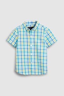 Рубашка в клетку (3 мес.-7 лет)
