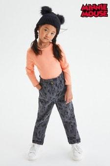 Minnie Mouse™ Gathered Waist Jeans (3-16yrs)
