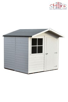 Pebworth Assembled Painted Shed
