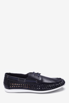Weave Boat Shoes