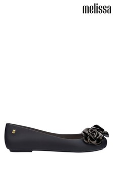 Melissa Black Space Love Flower Pump