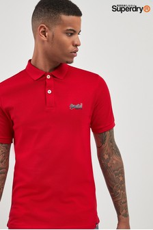Superdry Red Litecity Poloshirt