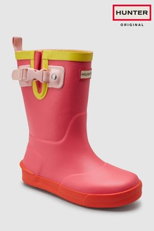 Hunter Pink Original Davidson Welly