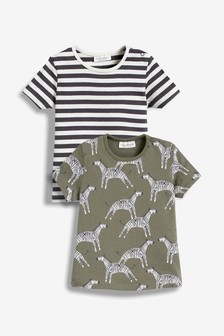 951c100e9d78 Zebra T-Shirts Two Pack (0mths-2yrs)