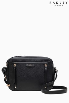 Radley Black Medium Crossbody Zip Top Bag