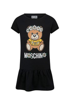 Moschino Kids Girls Cotton Dress