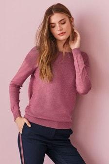 Suéter con espalda cruzada