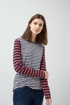 Bright Stripe Top
