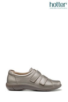 Hotter Leap Extra Wide Fit Touch Fastening Trouser Velcro Shoes