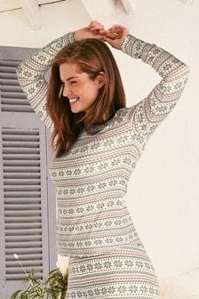 Lightweight Microwarmth Long Sleeve Top