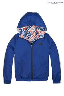Tommy Hilfiger Boys Reversible Hooded Jacket