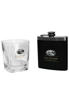Набор из фляжки и стакана для виски St Andrews Golf