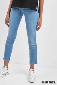 Diesel® Babhila Slim Fit Crop Jean