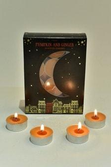 24 Pack Pumpkin & Ginger Tealights